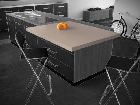 Diagonal, sistema di scorrimento per tavoli