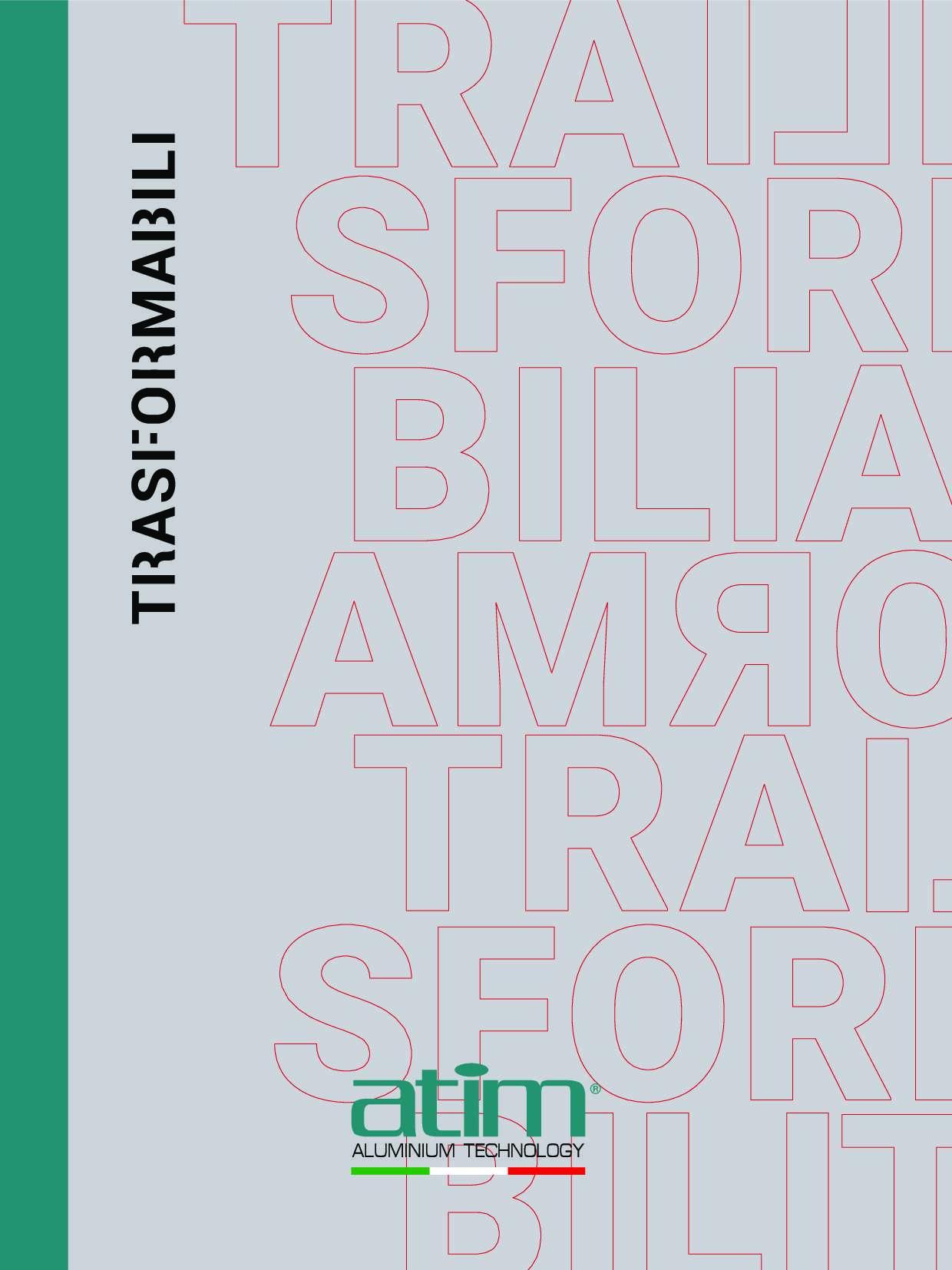 Catalogo ATIM Trasformabili 2019