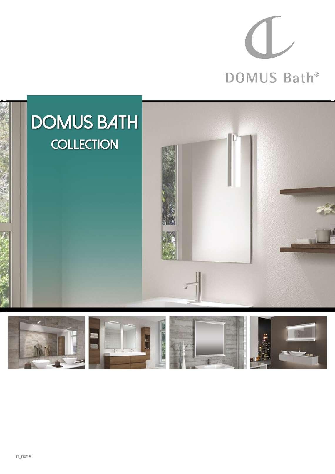 Catalogo Domus Bath Collection di Domus Line