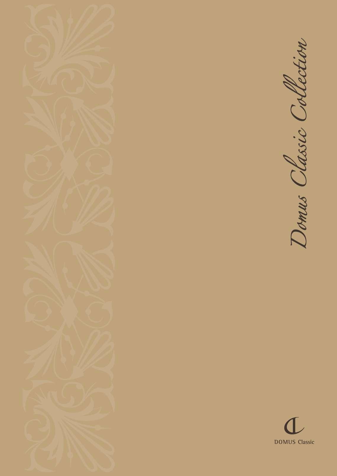 Catalogo Domus Classic Collection di Domus Line