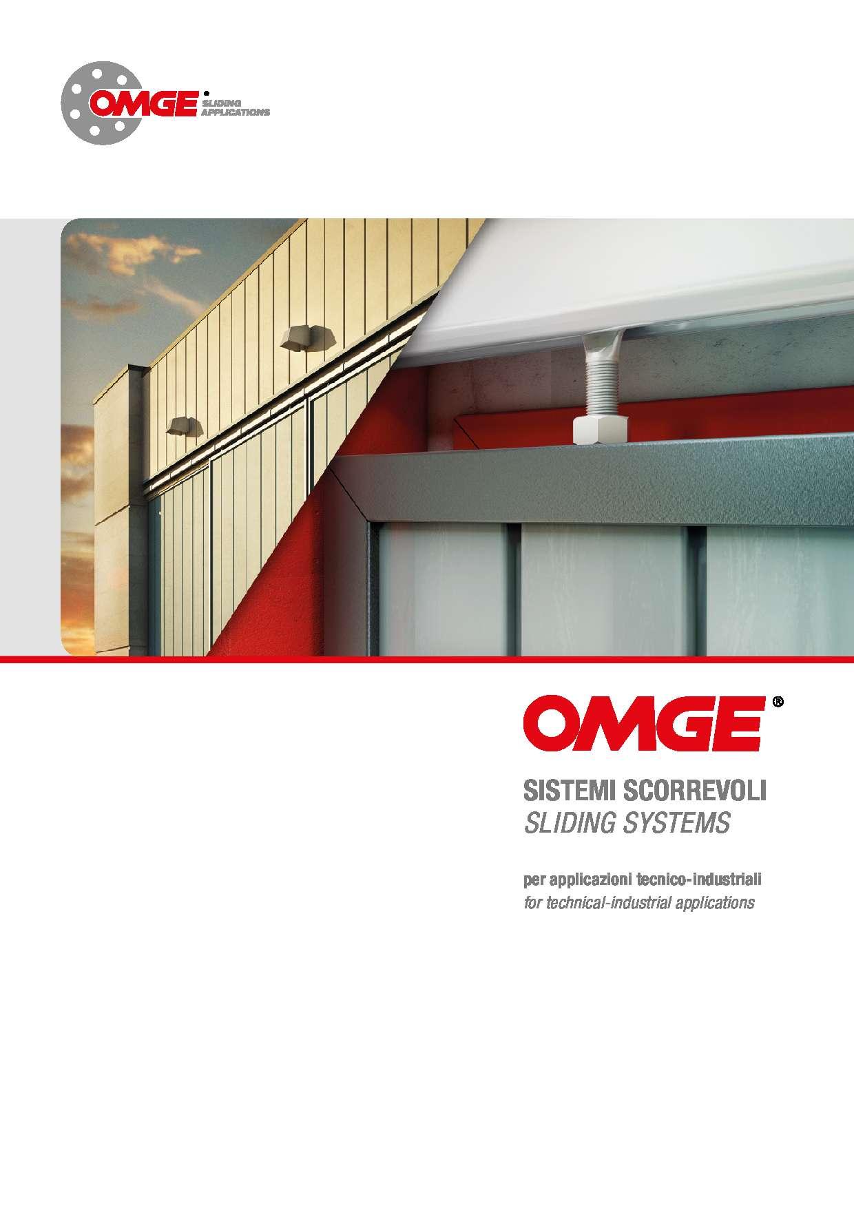 Catalogo sistemi scorrevoli di OMGE