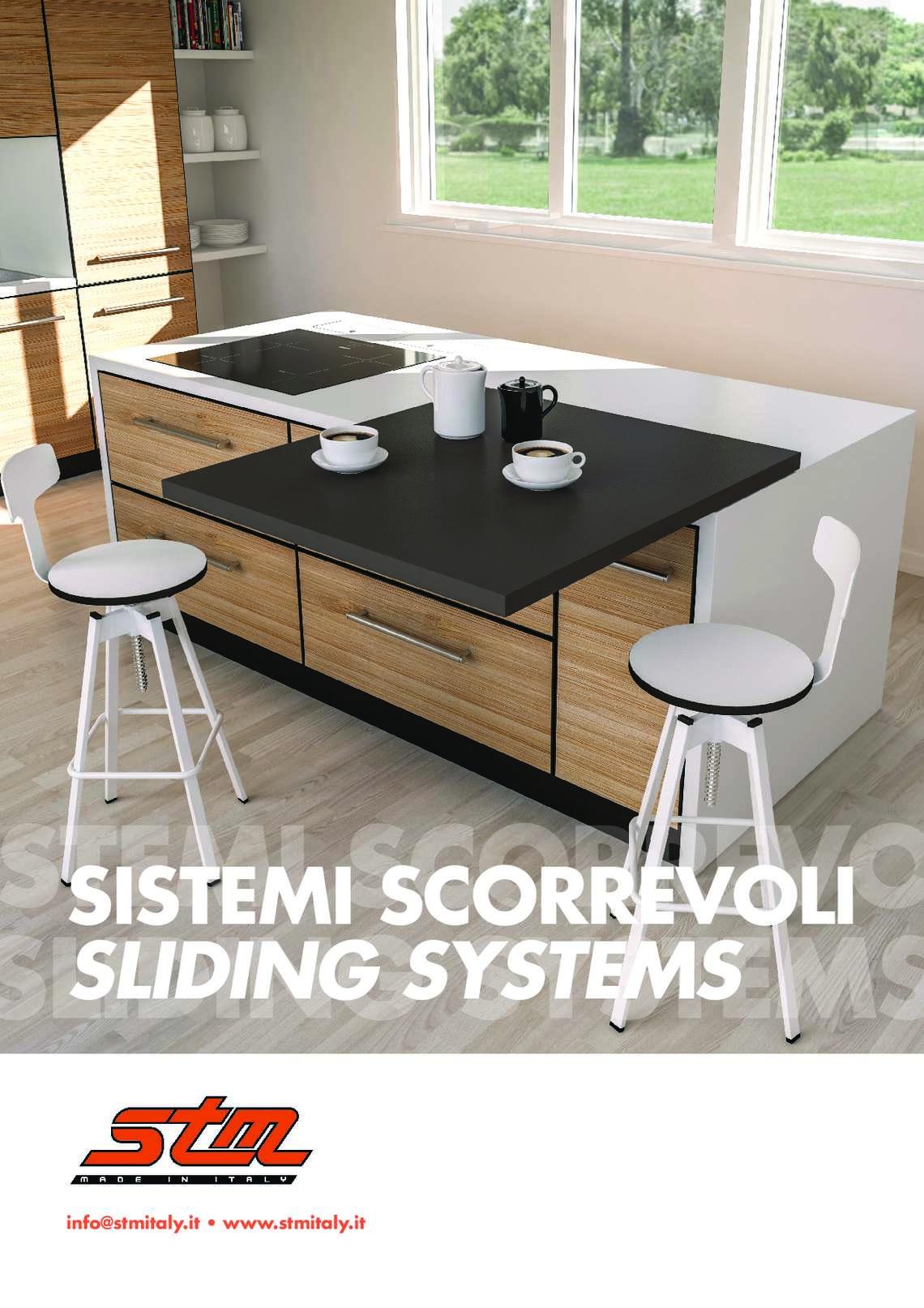 Catalogo sistemi scorrevoli di STM