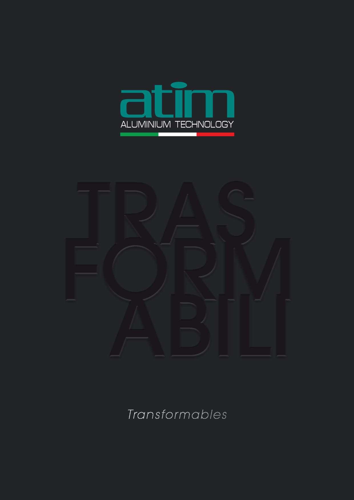 Catalogo trasformabili Atim