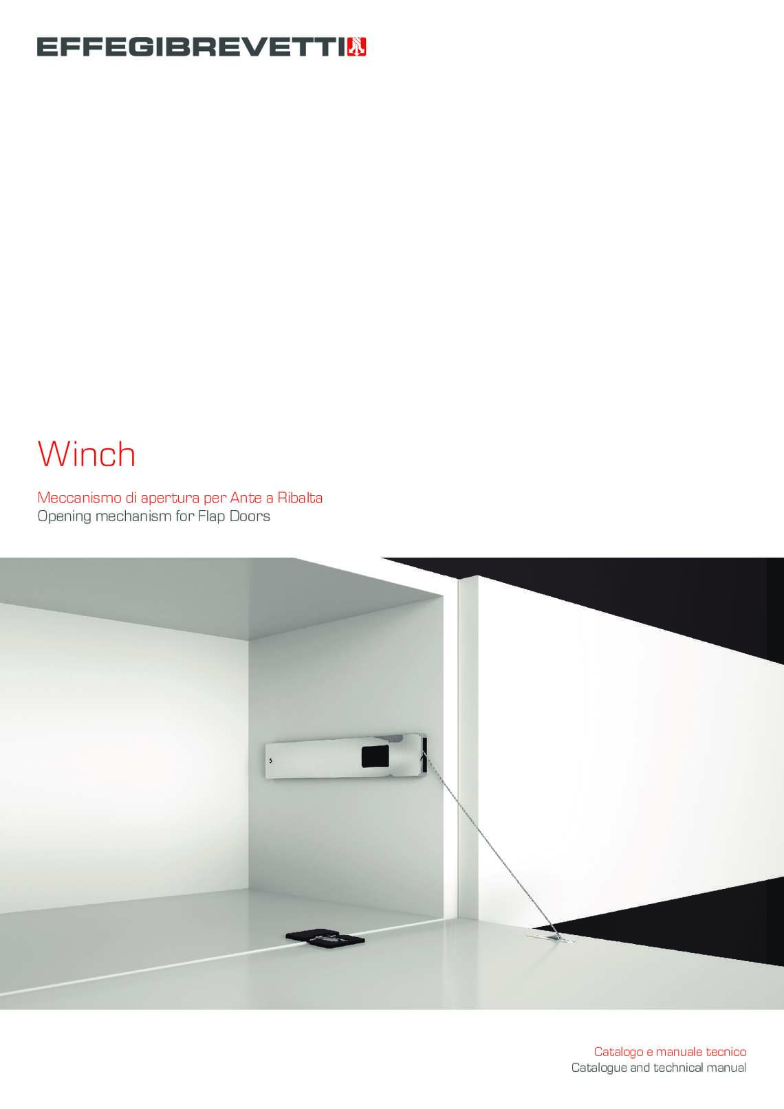 Winch Meccanismo per Ante a Ribalta Effegibrevetti
