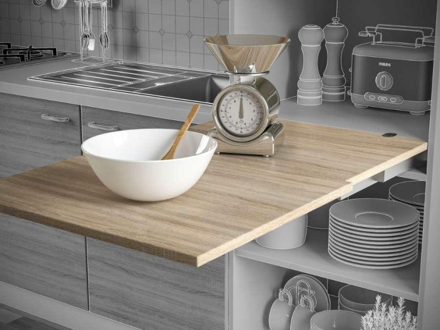 Anywork, sistema per tavoli a soffietto
